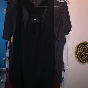 Dresses & Skirts - Black cross back dress